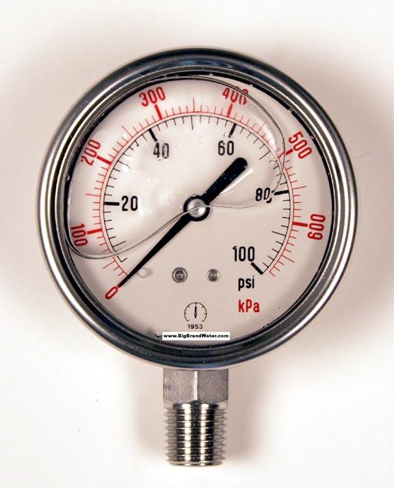 how to read psi gauge