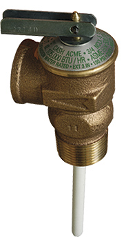NCLX Domestic Temp. and Pressure Relief Valves