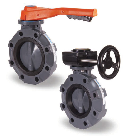 Hayward Butterfly Valves CPVC Body and Disc
