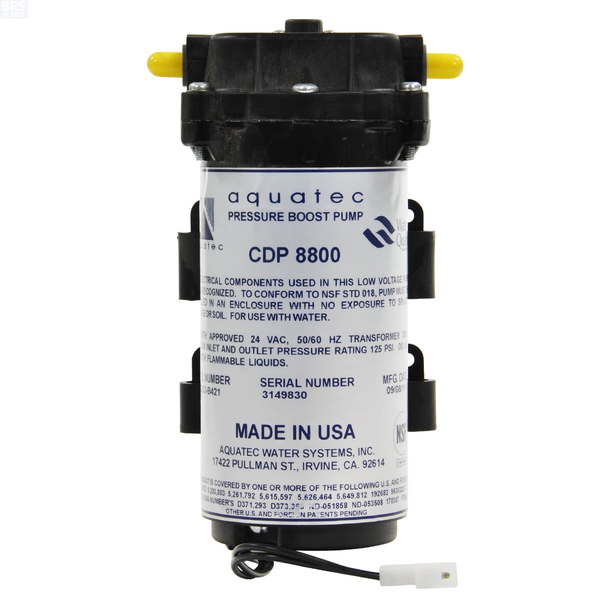 Aquatec Pumps For RO and Beverage Systems