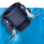 Polypro, Heavy-Duty A Style Female Coupler x MPT - 1-1/2