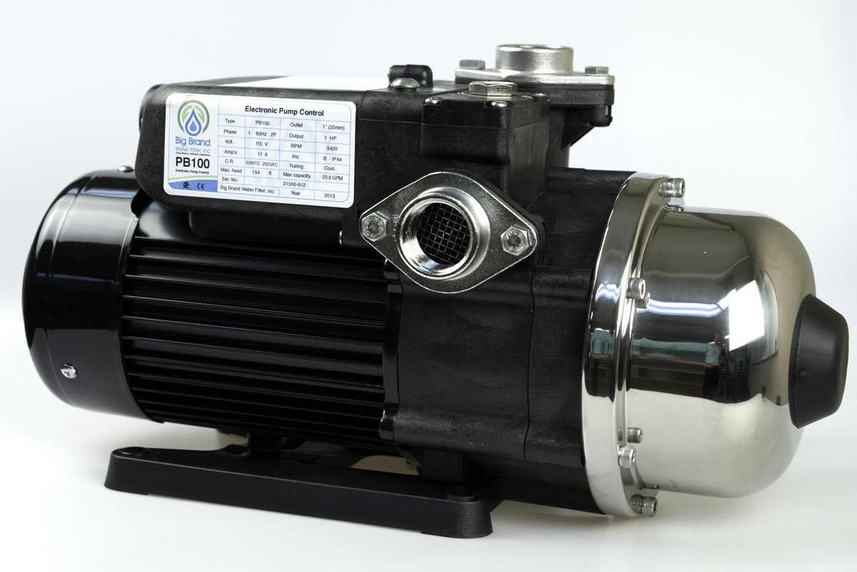 Big Brand 1HP Whole House Pressure Booster