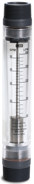 Blue-White 420N Standard Rotameter Models for Liquid