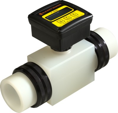 F-2000 Flowmeter (Rate & Total) - 0.8-8 GPM - 3/8
