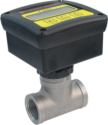 F-2000 Flowmeter w/ SS Bodies (Rate & Total) - 30-300 GPM - 2