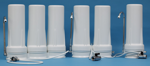 Big Brand Hydro Line Countertop Filter Systems