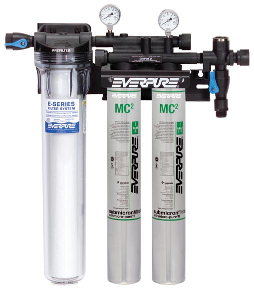 Coldrink double mc 2 filter system for Everpure water filter system reviews