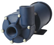 Finish Thompson GP 11 68 GPM PVDF Pump with 3 Phase Motor
