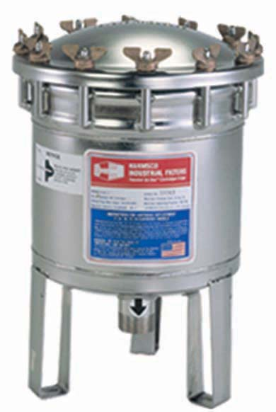 Harmsco HIF-7 Upflow Filter Housing 30 gpm