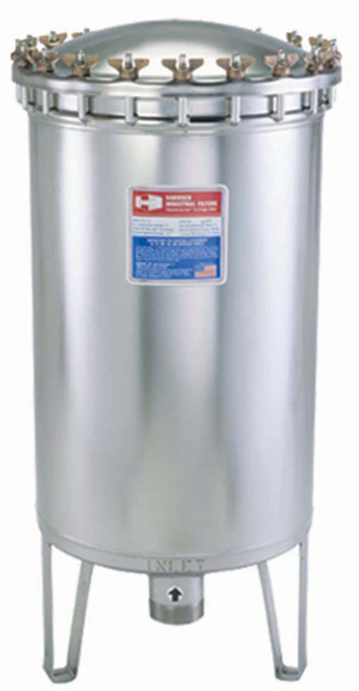Harmsco HIF-75 Upflow Filter Housing 300 gpm