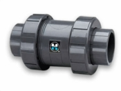 Hayward PVC 2' S/T True Union Ball Check Valve