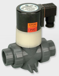 Hayward True Union CPVC/Viton Solenoid Valves