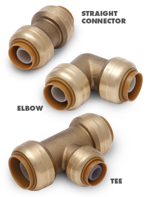 Pipe valves and fittings for How to connect pex pipe to copper