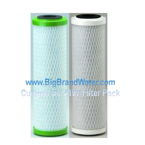 Pentek Culligan SY-5197 Dual Stage Under Counter water Filter System replacement Filters