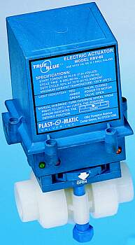 Plast-O-Matic Electric and Pneumatic Actuators