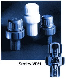 Plast-O-Matic Series VBM Vacuum Breakers
