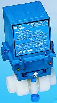 Plastomatic EBV Electric Actuator - 1-1/4