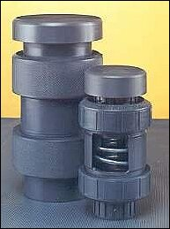 Plastomatic VBS Polypropylene Vacuum Breaker - 1-1/2