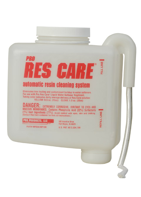 Pro Res-Care Softener Resin Cleaner Auto-Feeder