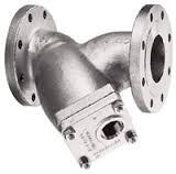 Stainless Steel 85 Y Strainer - 150# Flanged - 1/2