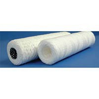 10 Micron Industrial White Cotton Slim Line Filter
