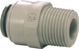 "3/8"" Tube by 1/4"" Male NPT Connector"