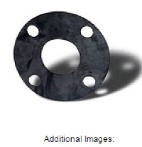 "1"" High Purity PVDF Bonded EPDM Flange Gasket"