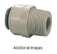 "1/4"" Tube by 1/4"" Male NPT Connector"