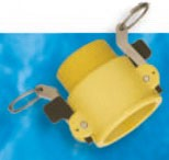Nylon, Glass-Filled B Style Female Coupler x MPT - 1/2""