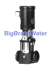 "Grundfos 1-1/2HP 43Max-PSI ANSI-Flanges ""Multistage Centrifugal Pump"""