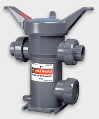 "Hayward 1"" Simplex Basket Strainer PVC/EPDM O-Rings Socket/Thread"