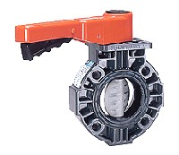"Hayward Butterfly Valve 1&1/2"" to 2"" PVC"