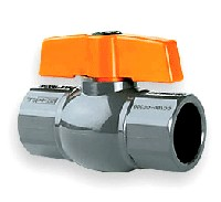 "Hayward Low Cost QIC2 Ball Valves 1/2"" Socket PVC"