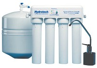 4 Stage Reverse Osmosis 25 gpd (Monitored)