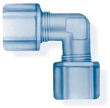 Jaco Union Elbow Tube Fitting - 3/8 PP