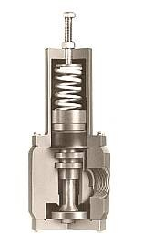 "Plastomatic PR Pressure Regulator - 1-1/2"" - FKM Seals"