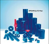 "SPEARS 3"" x 15' LXT Low-Extractable Piping For Ultra Pure Water"
