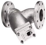 Stainless Steel 85 Y Strainer - 150# Flanged - 1 1/2""