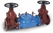 3 DCV, Double Check Valve Backflow Preventer with NRS gate valves Lead Free