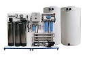1,500-2,000 gpd Complete RO Water Filtration and Delivery Station