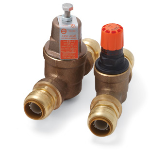 Cash Acme Water Pressure Regulators