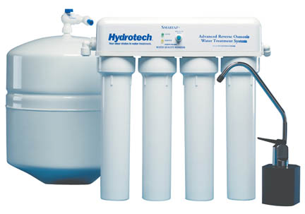 4 Stage Reverse Osmosis 50 gpd (Monitored)