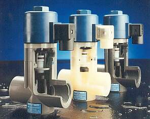 Plast-O-Matic EASMT Series 2-Way Continuous Solenoid Valves