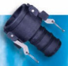 Polypro, Heavy-Duty C Style Female Coupler x Hose - 1-1/4""