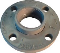 "Spears 3"" Flange Van Stone Style with Plastic Ring - FPT"