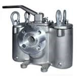 Stainless Steel 53BTX Duplex Basket Strainer - 150# Flanged - 1""